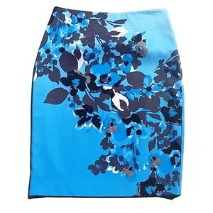 New York & Company - Floral Pencil Skirt